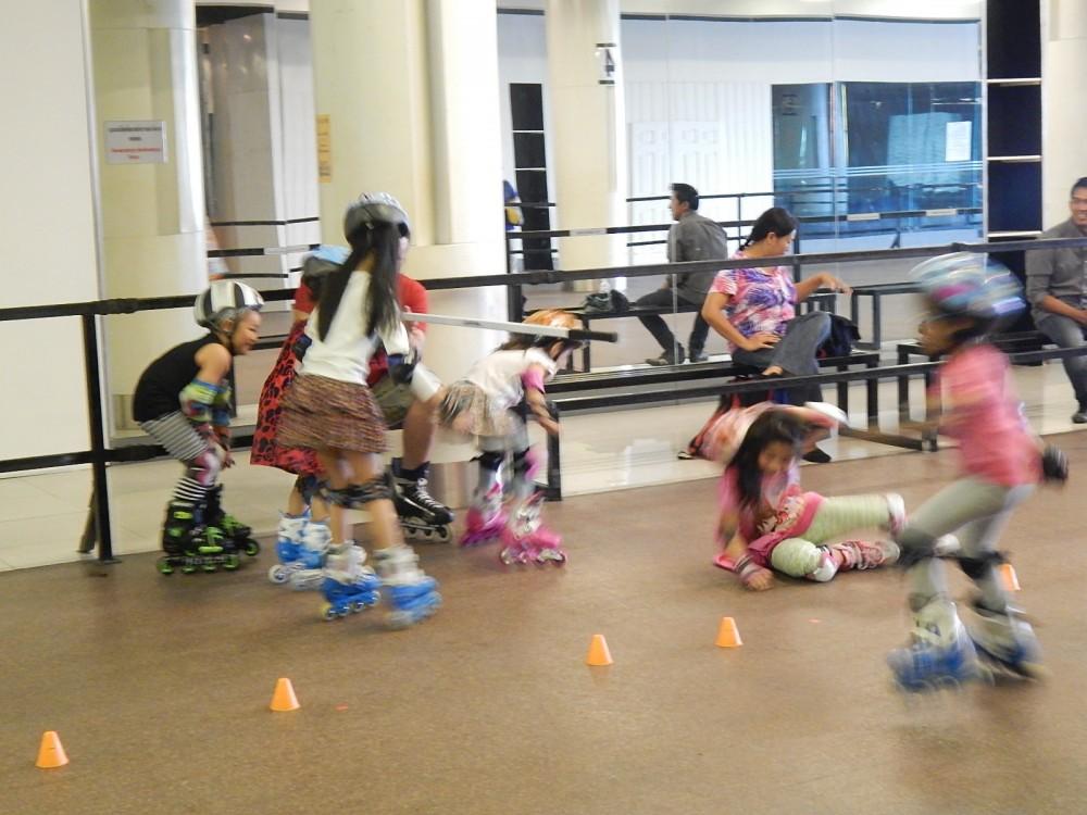 comment apprendre à faire du roller aux enfants