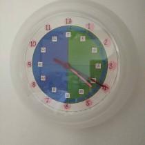horloge pour apprendre à lire l'heure