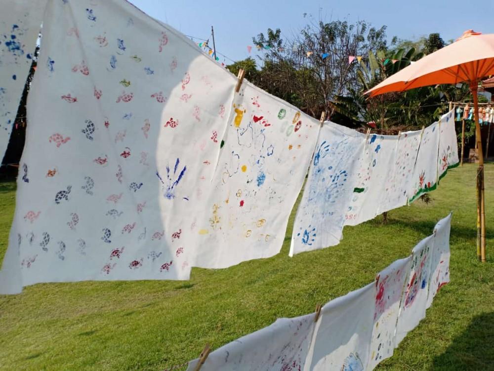 recycler du tissu en Furoshikii